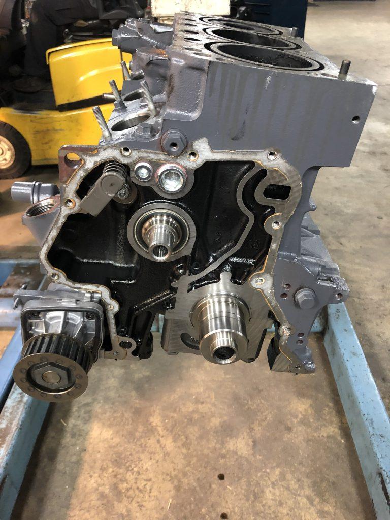 Completed engine rebuild
